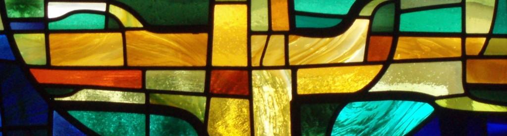 Botwell church window centre