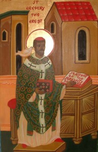 St Gregory Icon