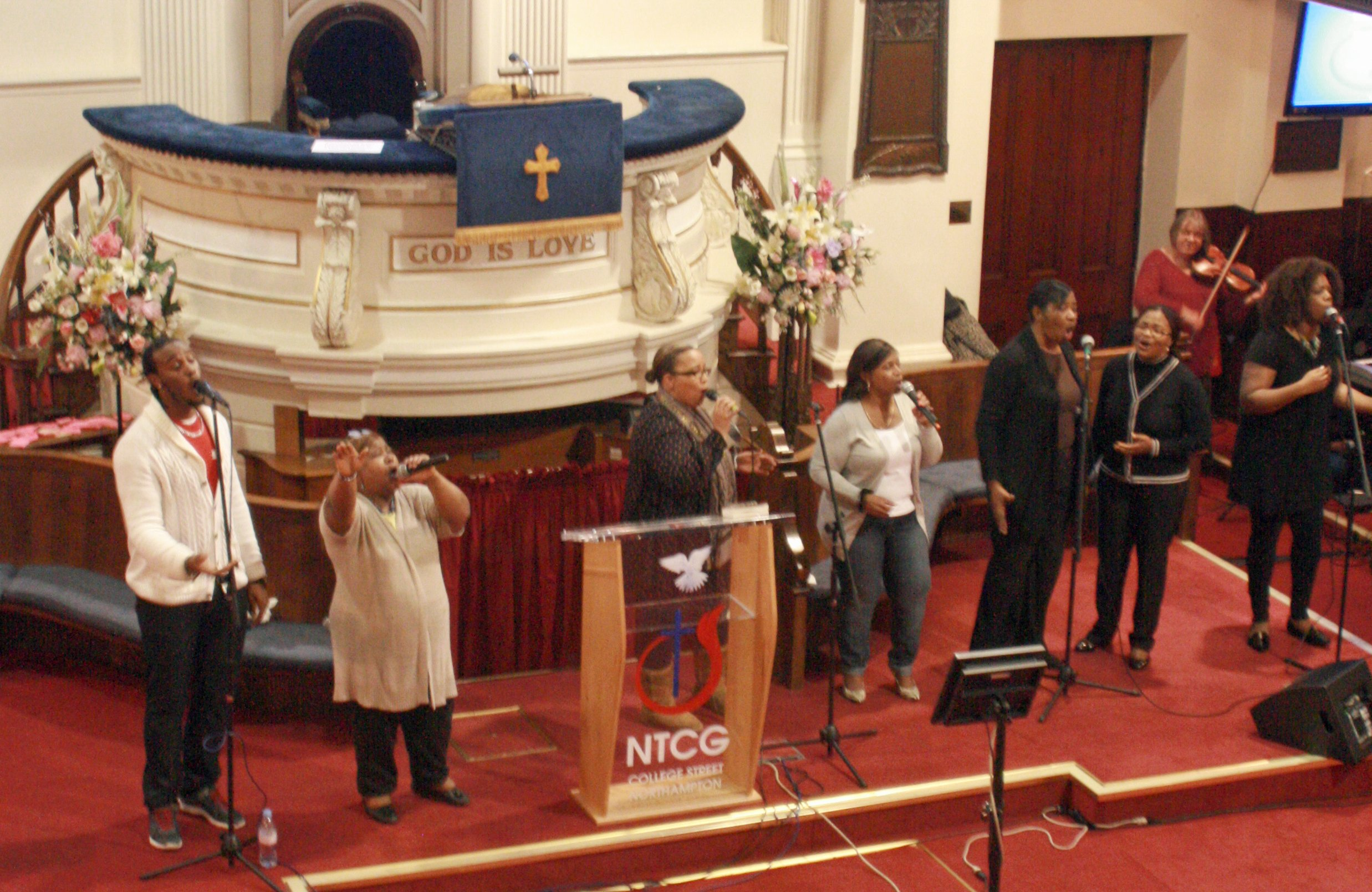 Choir at the New Testament Church of God
