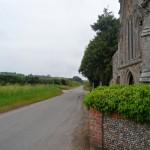 road to Slipper Chapel