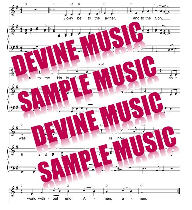 Sheet Music Downloads Devine Music