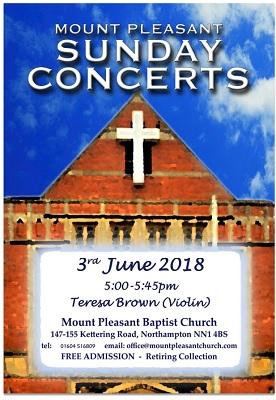 3 June concert L